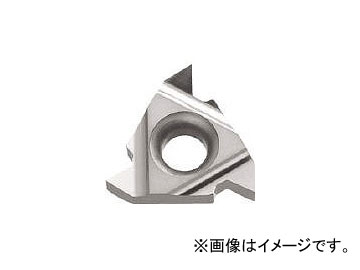 京セラ/KYOCERA ねじ切り用チップ サーメット 16ER6001 TC60M(6445748) JAN:4960664050727 入数:10個