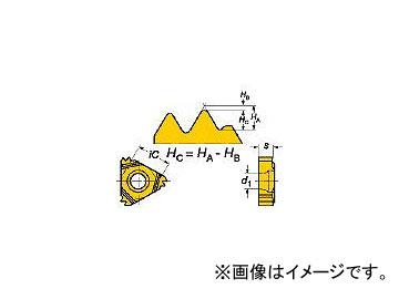サンドビック/SANDVIK T-Max U-ロック ねじ切りチップ R166.0L16MM03100 1020(6093876) 入数:10個