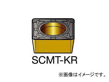 サンドビック/SANDVIK コロターン107 旋削用ポジ・チップ SCMT09T308KR H13A(6150276) 入数:10個