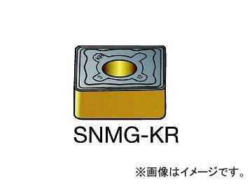 サンドビック/SANDVIK T-Max P 旋削用ネガ・チップ SNMG250724KR 3210(6954090) 入数:5個