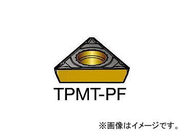 サンドビック/SANDVIK コロターン111 旋削用ポジ・チップ TPMT090202PF 5015(2507153) 入数:10個