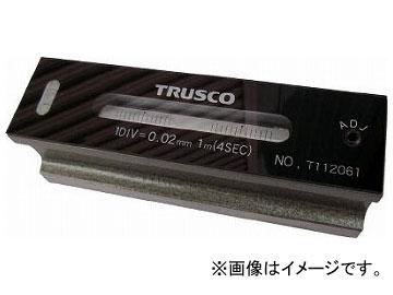 トラスコ中山/TRUSCO 平形精密水準器 B級 寸法300 感度0.02 TFLB3002(2630907) JAN:4989999317114