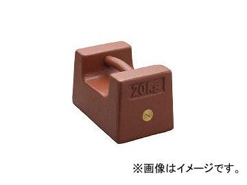 新光電子/SHINKO 鋳鉄製枕型分銅 20kg M1級 M1RF20K(3924467)