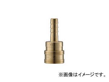 長堀工業/NAGAHORI クイックカップリング TL型 真鍮製 ホース取付用 CTL12SH2(3645533) JAN:4560291323333