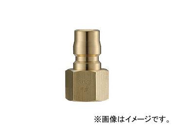 長堀工業/NAGAHORI クイックカップリング TL型 真鍮製 オネジ取付用 CTL16PF2(3645576) JAN:4560291323449