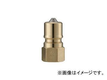 長堀工業/NAGAHORI クイックカップリング S・P型 真鍮製 オネジ取付用 CSP10P2(3644090) JAN:4560291323586