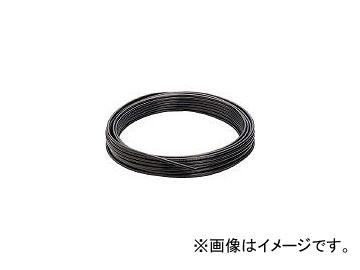 送料無料 日本ピスコ PISCO 限定モデル ソフトナイロンチューブ 黒 NB1075100B 100m 10×7.5 3781526 安心の定価販売