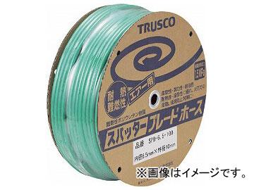 トラスコ中山/TRUSCO スパッタブレードチューブ 6.5×10mm 100m ドラム巻 SPB6.5100(1526782) JAN:4989999350036