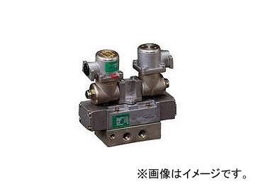 CKD パイロット式 防爆形5ポート弁 4Fシリーズ(シングルソレノイド) 4F410E08TPAC100V(3767906) JAN:4547431018748
