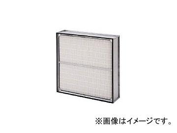 日本無機/NIPPONMUKI ろ材交換形低圧力損失中性能フィルタ レルフィ 610×610×150 LMXL7065QMF(4186907)