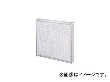 日本無機/NIPPONMUKI 高風量ミニプリーツHEPAフィルタ 610×610×75 ATMLK28E23(4186753)