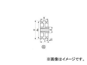 エバオン/EVERON ブッシングプーリー SPA 300mm 溝数3 SPA3003(3805778) JAN:4571314378483
