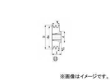 エバオン/EVERON ブッシングプーリー SPB 195mm 溝数2 SPB1952(3806294) JAN:4571314379497