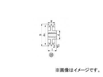エバオン/EVERON ブッシングプーリー SPA 250mm 溝数2 SPA2502(3805701) JAN:4571314378414