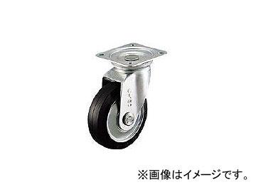 シシクアドクライス/SISIKU スタンダードプレスキャスター ゴム車輪 自在 250径 WJ250(1372912) JAN:4537657100075