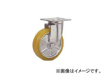 シシクアドクライス/SISIKU ステンレスキャスター 制電性ウレタン車輪付自在 SUNJ150SEUW(3535355) JAN:4537657272765