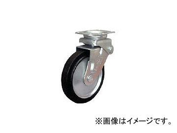 シシクアドクライス/SISIKU 緩衝キャスター 固定 ゴム車輪 200径 SAKHO200W(3535304) JAN:4537657272802