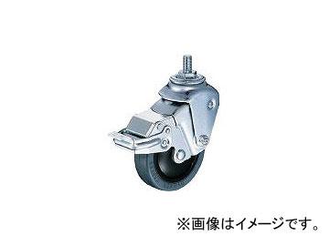 ハンマーキャスター/HAMMER-CASTER クッションねじ式自在SP付ゴム車 M12×P1.75線径2.3mm 935BEAFR100M1223BAR01(3093123) JAN:4956237436104
