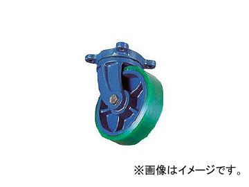 京町産業車輌/KYOMACHI ダクタイル自在金具付ウレタン車輪 FHJ200X75