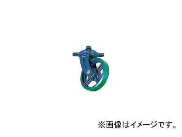 京町産業車輌/KYOMACHI ダクタイル製自在金具付ウレタン車輪 150mm FJ150