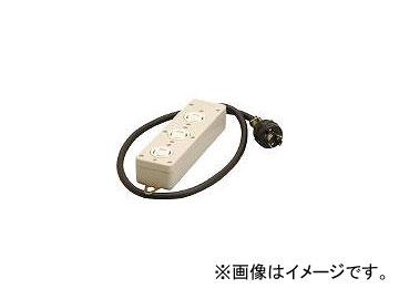 明工社/MEIKO 引掛3コ口タップ接地3P1m MR2933(3816982) JAN:4990848293305
