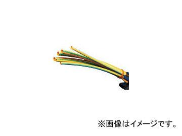 パンドウイットコーポレーション/PANDUIT 熱収縮チューブ 標準タイプ イエローグリーン HSTT3848Q45(3614301) JAN:74983520626