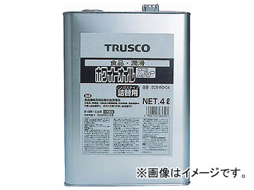 トラスコ中山/TRUSCO αホワイトオイル 4L ECOWOC4(5123097) JAN:4989999440669