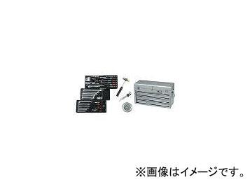 京都機械工具/KTC 9.5sq.工具セット(チェストケース) SK3650XS(3880087) JAN:4989433947259