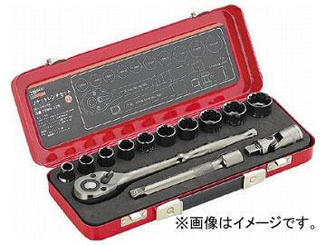トラスコ中山/TRUSCO ソケットレンチセット 差込角12.7mm 13S TSW413S(3019829) JAN:4989999460704