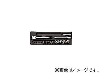 京都機械工具/KTC 6.3sq.ソケットレンチセット[13点] TB210B(3839192) JAN:4989433140520