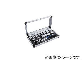 スエカゲツール/SEK ゴースルーラチェット&スプラインソケットセット GTFL13SS(3813509) JAN:4989530609173