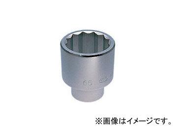 京都機械工具/KTC 25.4sq.ソケット(十二角) 75mm B5075(3448126) JAN:4989433105406