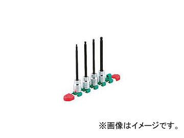 京都機械工具/KTC 12.7sq.ロングヘキサゴンビットソケットセット[9コ組] TBT4L09H(3077535) JAN:4989433149790