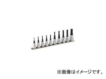 前田金属工業/TONE トルクスソケットセット(強力タイプホルダー付) 10pcs HTX310(3964655) JAN:4953488148237