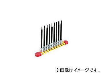 京都機械工具/KTC 6.3sq.ロングT型トルクスビットソケットセット[9コ組] TBT2L09T(3839508) JAN:4989433149592