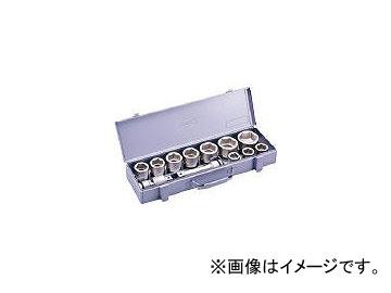 前田金属工業/TONE インパクト用ソケットセット(メタルトレー付) 12pcs NV6102(3876811) JAN:4953488268980
