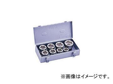 前田金属工業/TONE インパクト用ソケットセット(メタルトレーケース仕様) 8pcs NV608S(3876802) JAN:4953488268973