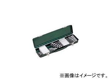 前田金属工業/TONE 首振ラチェットめがねレンチセット 10pcs RMF100(3699200) JAN:4953488209068