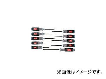 京都機械工具/KTC 樹脂柄ボールポイントヘキサゴンドライバセット[10本組] TD1HBP10B(3839630) JAN:4989433826431