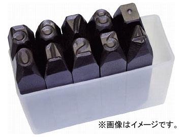トラスコ中山/TRUSCO 逆数字刻印セット 13mm SKB130(2285126) JAN:4989999134124