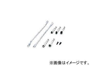 京都機械工具/KTC フリーポジションレンチセット[7点組] ATE107(3730531) JAN:4989433312736