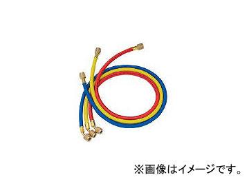 アサダ/ASADA R410A用チャージングホースプラス2 152cm 3本パック Y21585(3339378) JAN:4991756146271