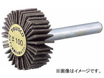 トラスコ中山/TRUSCO ダイヤ軸付フラップホイール オールダイヤ φ50×軸径6 180# PDF50206A 180(2168111) JAN:4989999227680