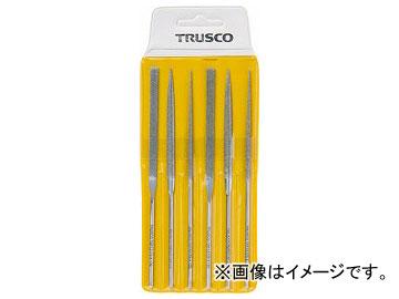 トラスコ中山/TRUSCO ダイヤモンドニードルヤスリ 平・半丸・丸 6本組セット TNFS1(3289231) JAN:4989999293173