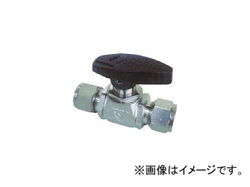 フジキン/FUJIKIN ステンレス鋼製4.90MPaパネルマウント式ボール弁 PUBV959.52(3655369)