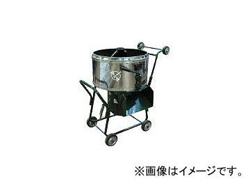 トンボ工業 モルタルミキサ 80L「キャーリーアップ2.8」 TMM2.8UDB(4115911)
