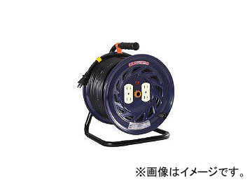 日動工業/NICHIDO 電工ドラム 標準型100Vドラム 2芯 50m NF504D(1255142) JAN:4937305011133