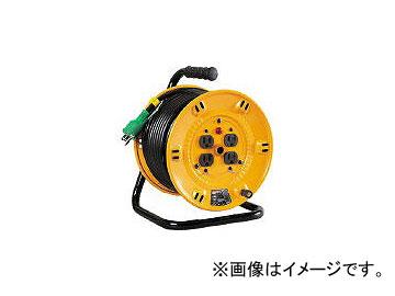 日動工業/NICHIDO 電工ドラム 標準型100Vドラム アース付 30m NPE34(1255614) JAN:4937305011584