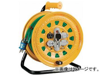 トラスコ中山/TRUSCO プロソフトケーブルコードリール 30m 漏電防止付き BG301KXT(2289270) JAN:4989999232035