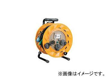 ハタヤリミテッド/HATAYA 単相100V型ブレーカーリール 50m アース付 とび出しプラグ付 BR501KX(1063227) JAN:4930510100517